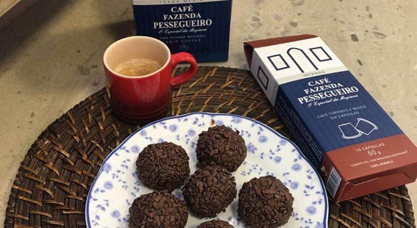 Receita de Brigadeiro de Café