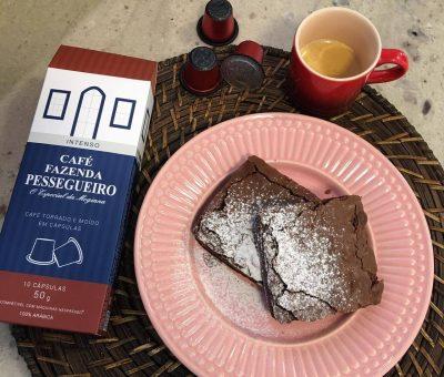 Receita Brownie de Café